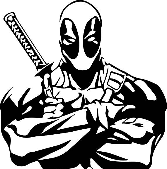 deadpool free deadpool svg files cutting files for vinyl by texasglitterco deadpool free