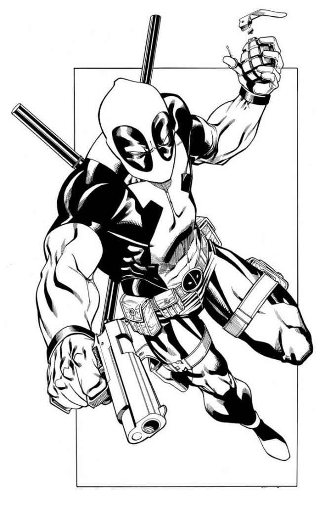 deadpool free free printable deadpool coloring pages for kids free deadpool