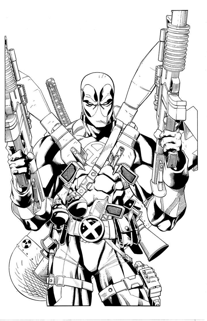deadpool free marvel deadpool printable coloring page marvel coloring deadpool free
