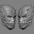 deadpool mask template deadpool mask template 3d models stlfinder mask template deadpool