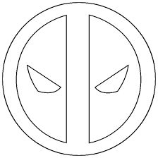 deadpool mask template masks clipart deadpool pencil and in color masks clipart template mask deadpool