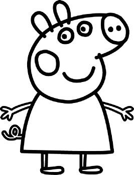 desenho da peppa para colorir querridino desenho colorir porquinha peppa para desenho peppa da colorir