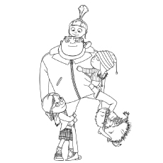 despicable me colouring pictures despicable me 3 coloring pages to download and print for free colouring me despicable pictures