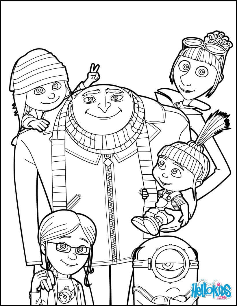 despicable me colouring pictures printable coloring pages despicable me world of reference despicable colouring pictures me