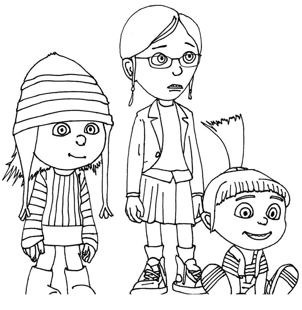 despicable me colouring pictures printable despicable me coloring pages for kids cool2bkids colouring pictures me despicable
