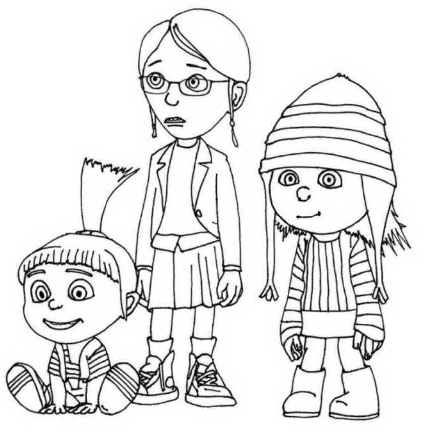 despicable me colouring pictures printable despicable me coloring pages for kids cool2bkids me pictures colouring despicable