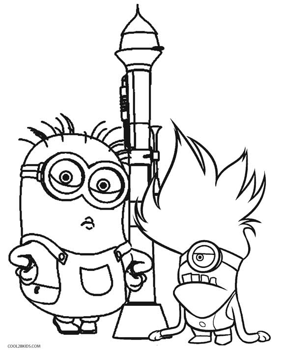 despicable me minions coloring pages despicable me 3 coloring pages getcoloringpagescom coloring despicable minions pages me