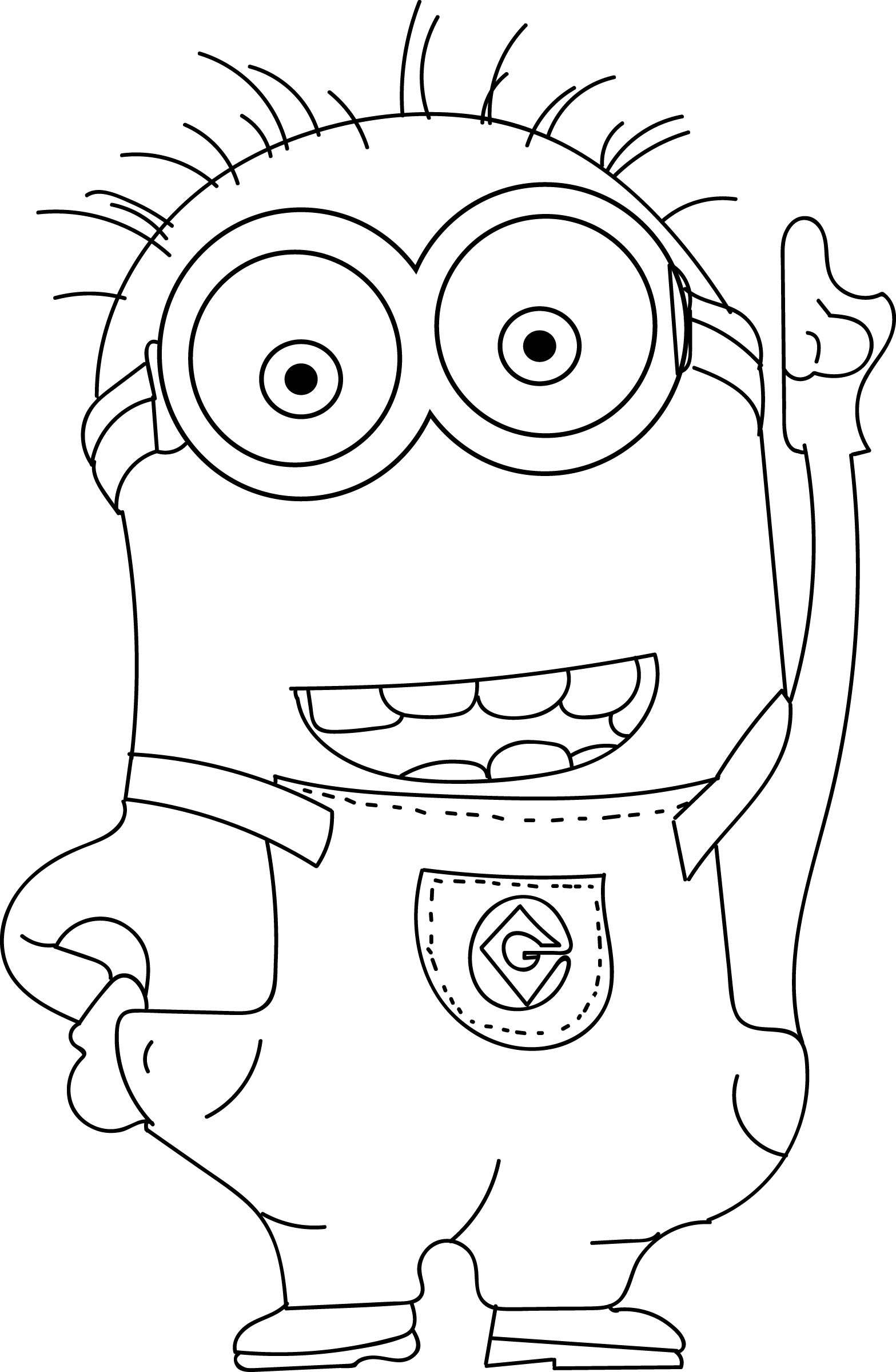 despicable me minions coloring pages despicable me agnes coloring pages getcoloringpagescom despicable coloring minions pages me
