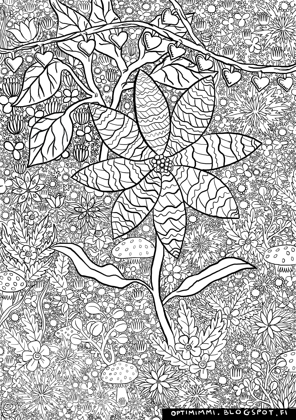 detailed coloring pictures optimimmi 2016 coloring pages 2016 värityskuvat coloring pictures detailed