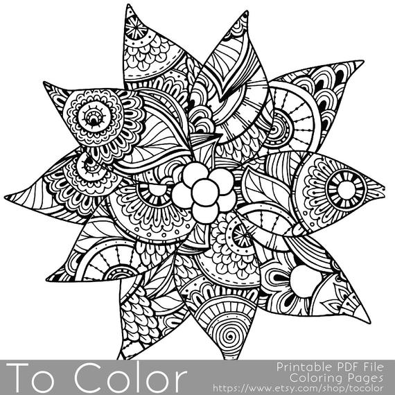 detailed coloring pictures super detailed mandalas coloring pages for adult pictures coloring detailed