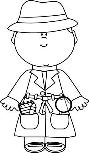 detective coloring pages black and white detective clip art black and white coloring detective pages