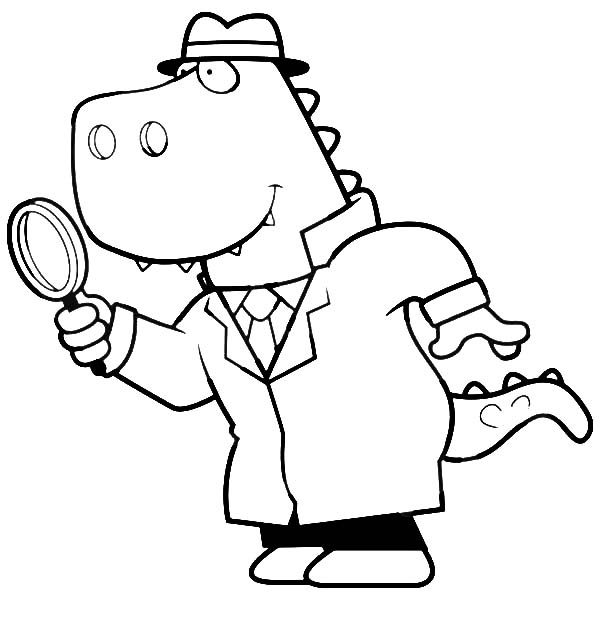 detective coloring pages clifford the detective coloring page free printable detective pages coloring
