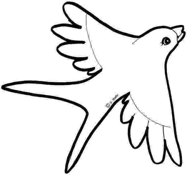 dibujos de golondrinas animales para colorear actividades infantil de golondrinas dibujos