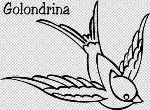 dibujos de golondrinas golondrina para colorear e imprimir imagui de dibujos golondrinas