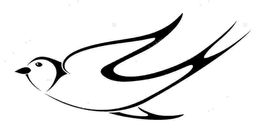 dibujos de golondrinas silueta negra de golondrina ilustración vectorial dibujos golondrinas de