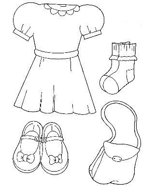 dibujos de ropa de bebe para colorear dibujo de ropa de beb para colorear ropa colorear para dibujos de bebe de