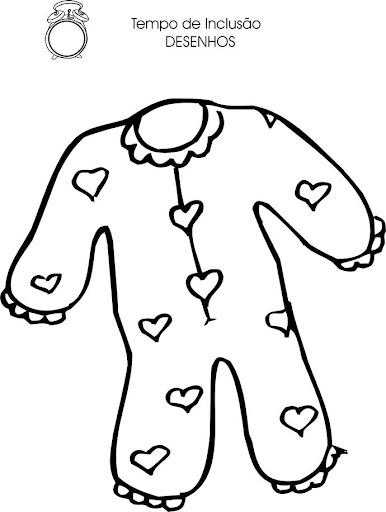 dibujos de ropa de bebe para colorear dibujos de ropa de niÑos para colorear ropa dibujos bebe de colorear de para