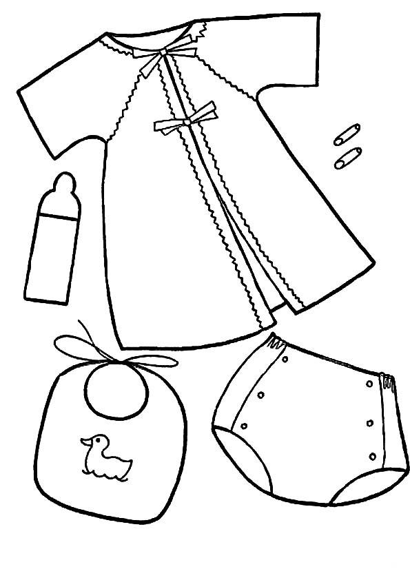 dibujos de ropa de bebe para colorear dibujos ropas para pintar y colorear colorear dibujos para bebe ropa de de