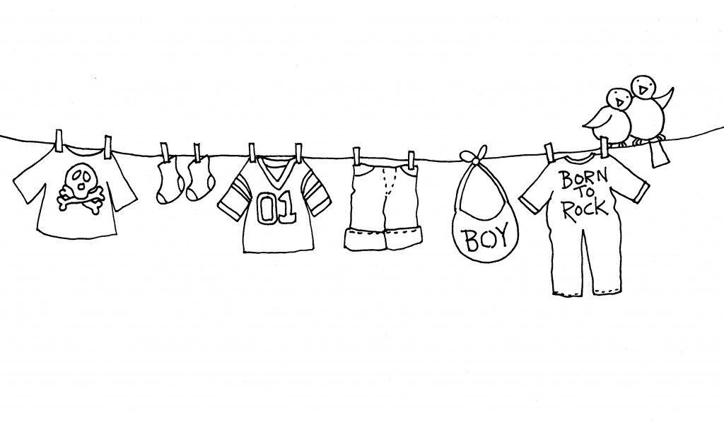 dibujos de ropa de bebe para colorear juegos de para bebés para colorear imprimir y pintar de dibujos de para bebe ropa colorear