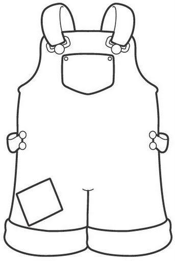 dibujos de ropa de bebe para colorear pintar y recortar ropa colorear de para ropa dibujos de bebe