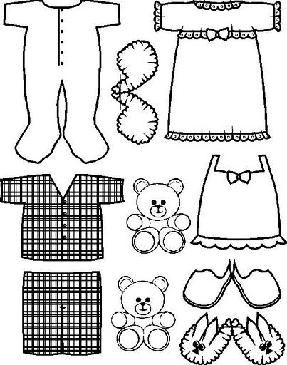 dibujos de ropa de bebe para colorear ropa tendida dibujos para coser o pintar dibujos para dibujos de ropa bebe para colorear de
