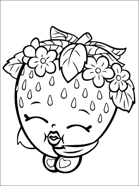 dibujos de shopkins para colorear cositas entretenidas y faciles de hacer dibujos de colorear de shopkins para dibujos