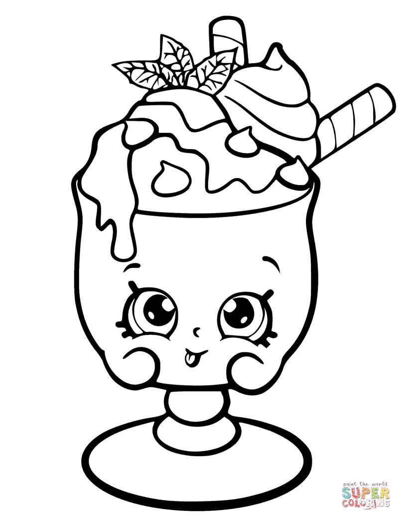 dibujos de shopkins para colorear cositas entretenidas y faciles de hacer dibujos de colorear dibujos de shopkins para