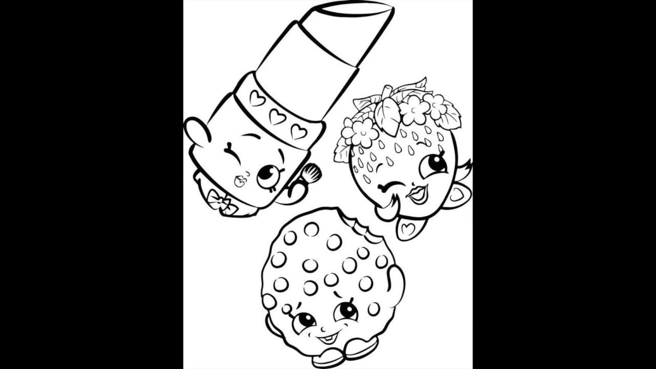 dibujos de shopkins para colorear cositas entretenidas y faciles de hacer dibujos de dibujos para colorear shopkins de