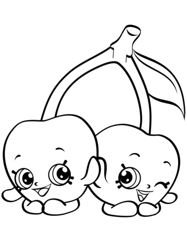 dibujos de shopkins para colorear pin by coloringsworldcom on shopkins coloring pages dibujos shopkins de para colorear