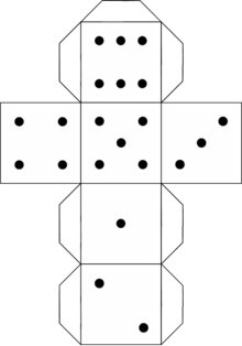 dice templates a net for a normal 6 sided die templates dice