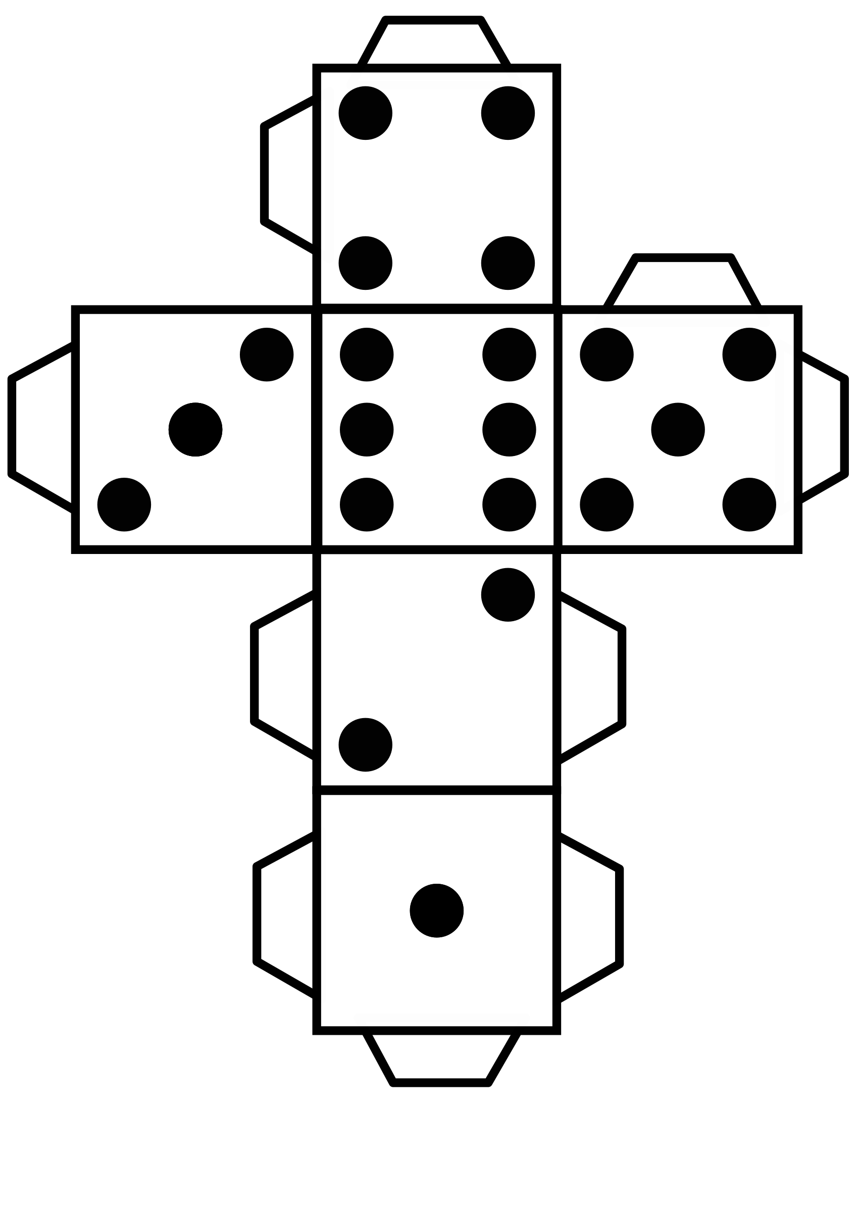 dice templates clipart printable die dice templates dice