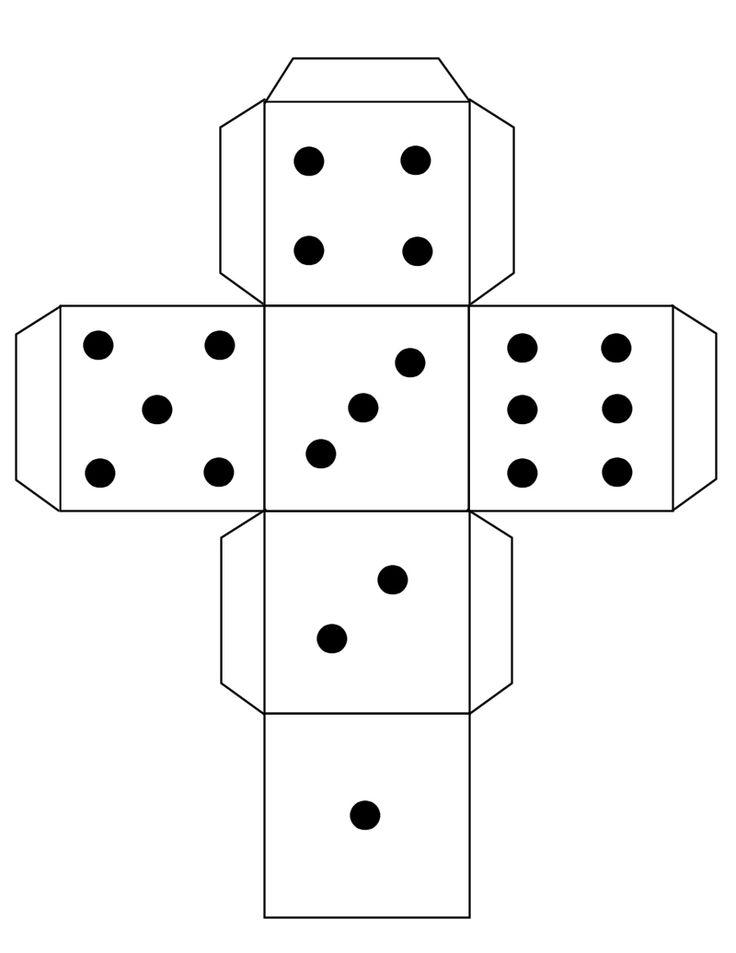 dice templates dice template teaching resources templates dice