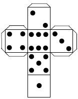 dice templates make your own dice on pinterest 15 pins dice templates
