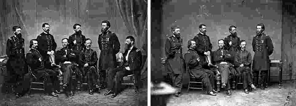 differences in picture iconic abraham lincoln portrait revealed to be two picture differences in