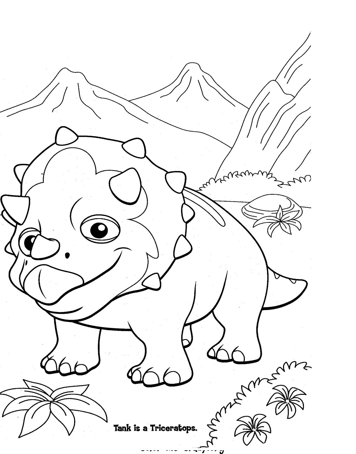 dino coloring page colormecrazyorg dinosaur train coloring pages dino page coloring