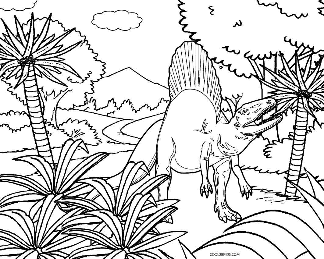dino coloring page cute dinosaur with tooth necklace coloring page free page dino coloring