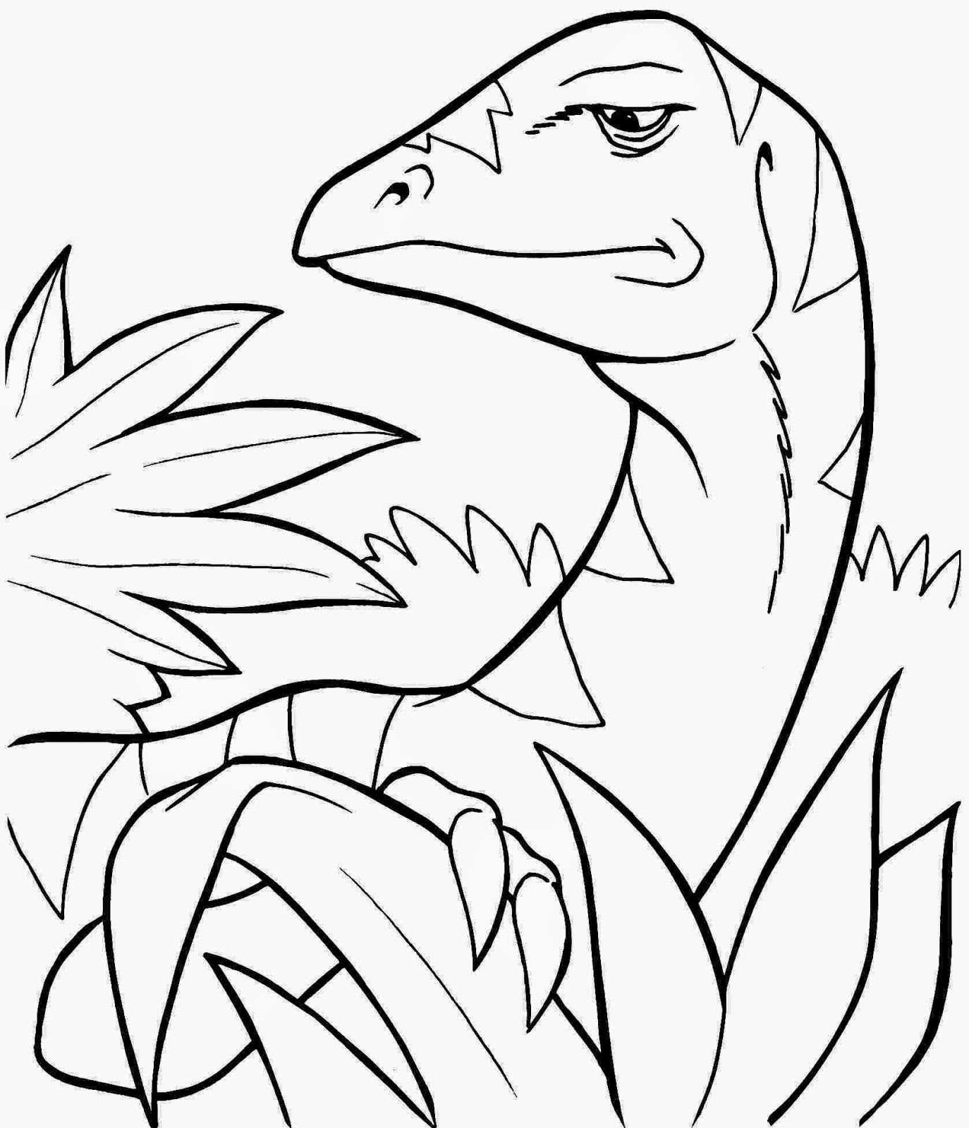dinosaur pictures to print for free simple dinosaur coloring page getcoloringpagescom for to pictures free dinosaur print