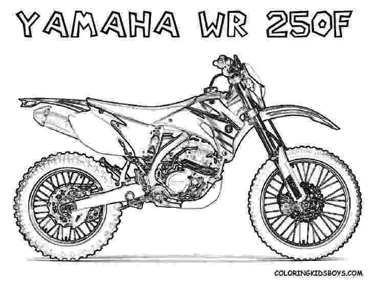 dirt bike images to color print out coloring pages yamaha wr250f dirt bike for bike color to dirt images
