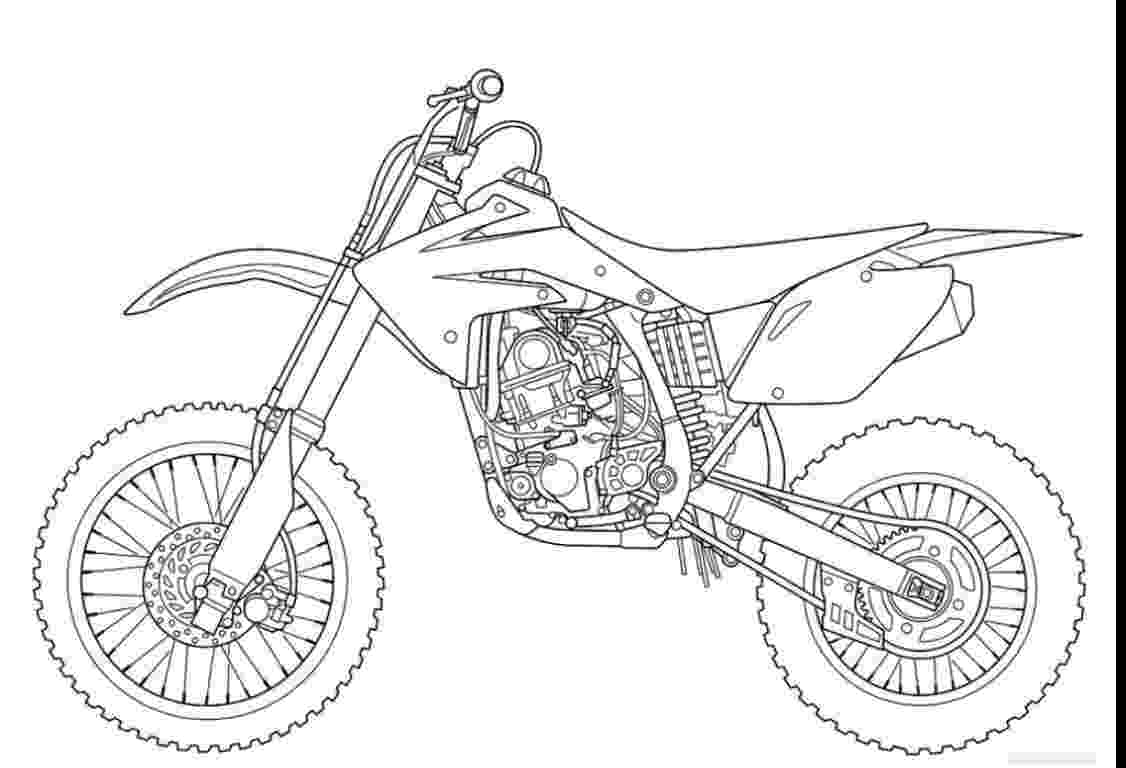 dirt bike images to color suzuki dirt bike coloring page free printable coloring pages images color bike to dirt