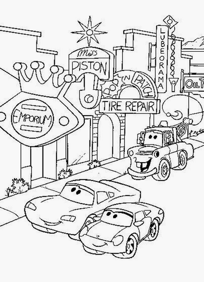 disney cars coloring 6 free printable disney cars tow mater coloring pages disney coloring cars