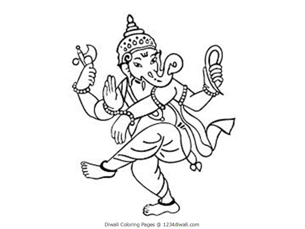 diwali coloring pages diwali colouring pages family holidaynetguide to coloring pages diwali
