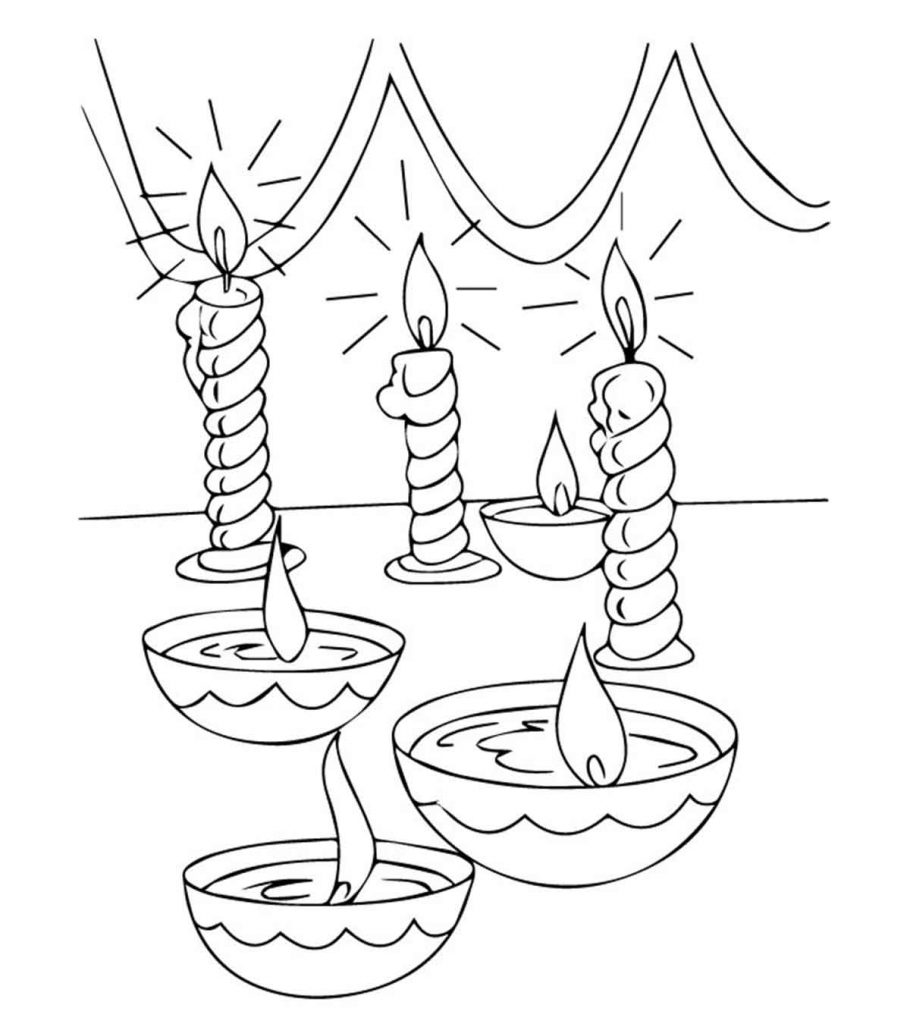diwali coloring pages diwali colouring pages family holidaynetguide to pages coloring diwali