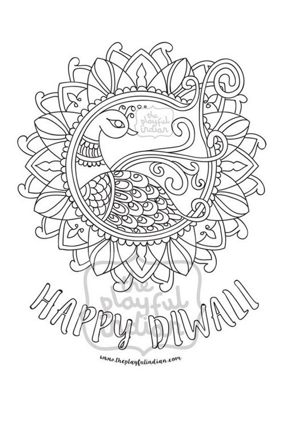 diwali coloring pages happy diwali images galleries facebook whatsapp photos pages coloring diwali