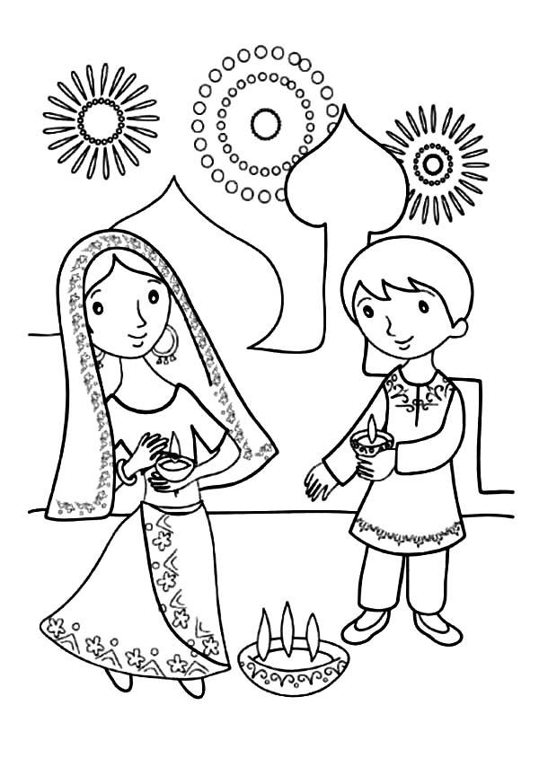 diya pictures to colour diwali diya drawing free download best diwali diya to colour diya pictures