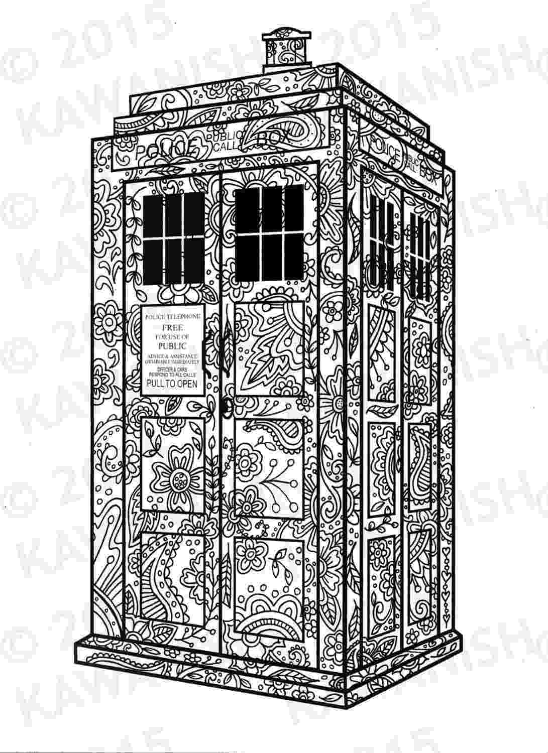 doctor who tardis coloring pages eleventh doctor coloring page free printable coloring pages coloring tardis pages who doctor
