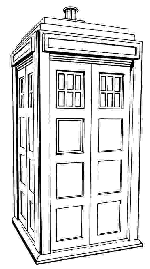 doctor who tardis coloring pages tardis dr who adult coloring page coloring doctor tardis pages who