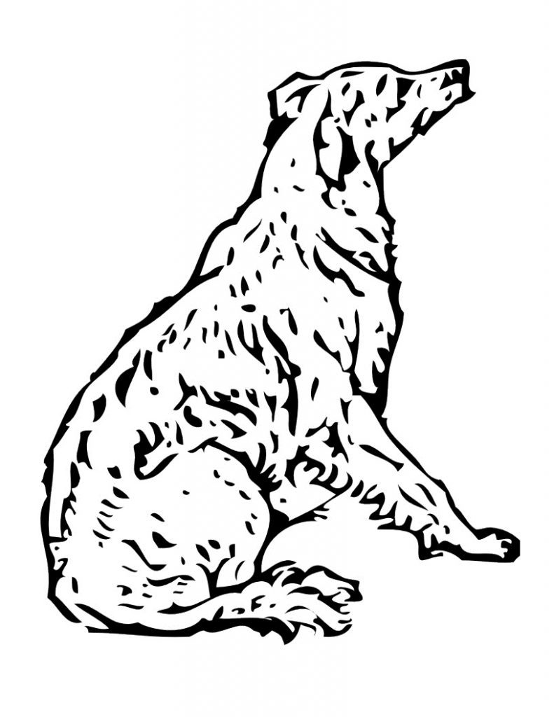 dog coloring page free printable dog coloring pages for kids coloring dog page 1 1