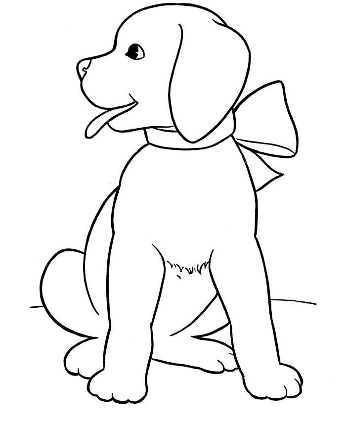 dog coloring page printable dogs coloring pages to kids coloring dog page