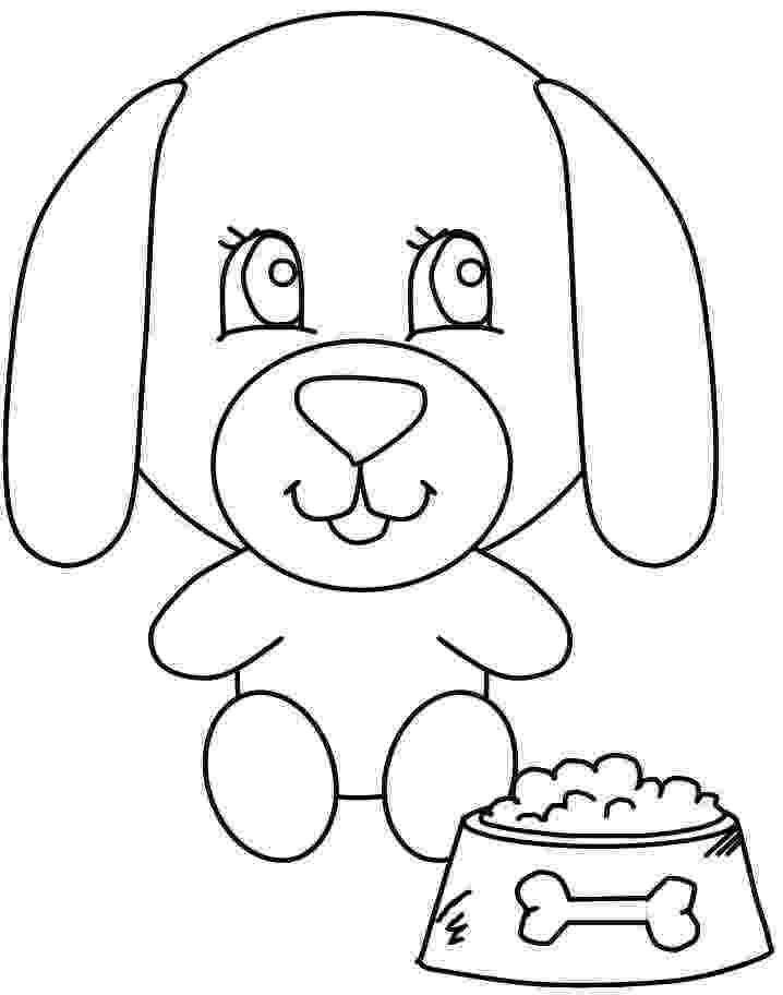 dog coloring pages for preschoolers dog coloring pages for kids preschool and kindergarten dog for coloring preschoolers pages