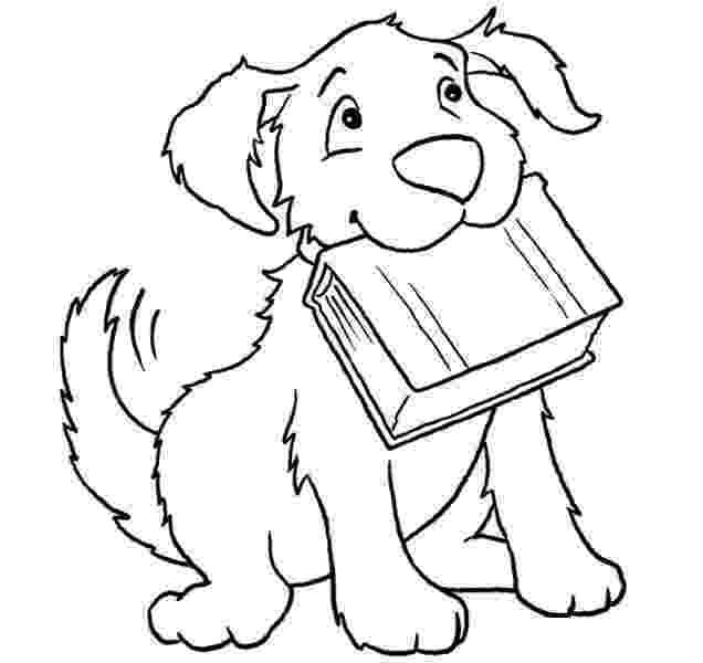 dog coloring pages for preschoolers kindergarten worksheet guide pictures clip art line dog preschoolers for coloring pages